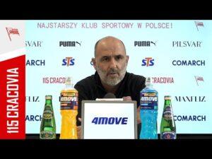 Konferencja Trenera Michała Probierza przed meczem z Górnikiem Zabrze (29.04.2021)