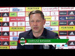 Konferencja prasowa po meczu ŁKS Łódź – Radomiak Radom 1:1 [RADOMIAK.TV]