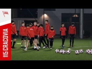 Powrót rozgrywek młodzieżowych: Przygotowania Cracovii U-14 (29.04.2021)