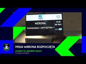 Read more about the article MISJA WERONA ROZPOCZĘTA | DZIEŃ 1