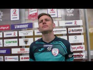 Read more about the article Krzysztof Napora bezpośrednio po świątecznym meczu w Chojnicach   3.04.2021