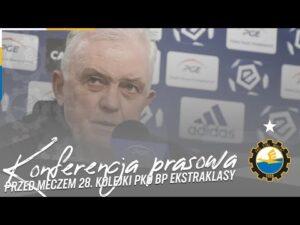 Read more about the article TV Stal: Konferencja prasowa przed meczem 28. kolejki PKO BP Ekstraklasy
