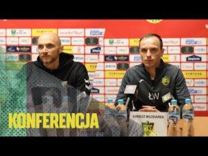 Read more about the article [GKS TV] Konferencja prasowa po meczu z GKS-em Tychy
