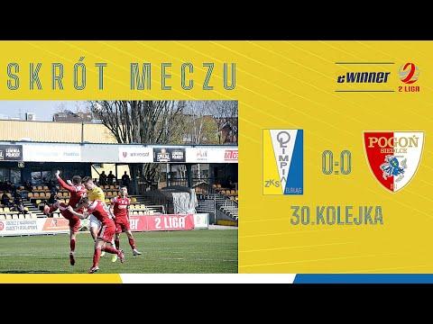Read more about the article SKRÓT: Olimpia Elbląg 0:0 Pogoń Siedlce | 30. kolejka, eWinner 2. Liga
