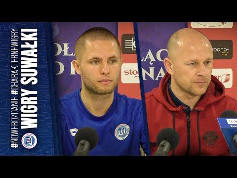 Konferencja | Wigry Suwałki 0:1 (0:1) Górnik Polkowice