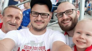 """Piotr Świtalski z """"fansów"""": Przede wszystkim kibic"""