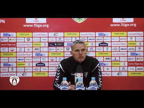Kazimierz Moskal po meczu z Puszczą   PUSZCZA TV