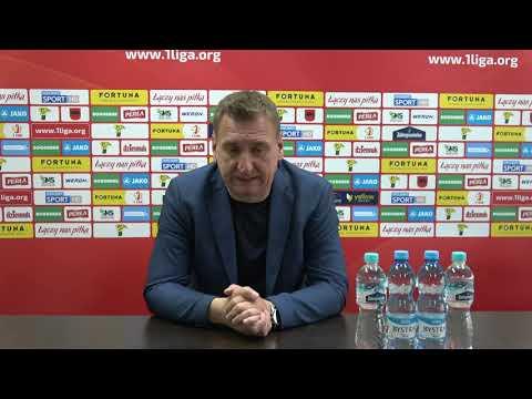 Konferencja prasowa po meczu Górnik Łęczna – Stomil Olsztyn