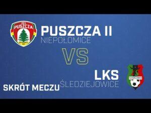Read more about the article [Skrót] Puszcza II Niepołomice – LKS Śledziejowice 3-1 | PUSZCZA TV