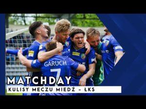 Read more about the article [MIEDŹ TV] MATCHDAY: Kulisy meczu Miedzi z ŁKS