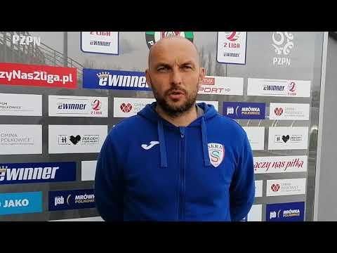 Trener Gołębiowski po meczu z Górnikiem Polkowice | 3.05.2021