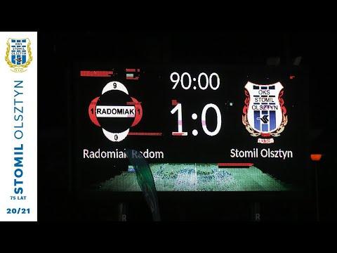 SKRÓT | Radomiak Radom – Stomil Olsztyn 1:0 (2.05.2021 r.)