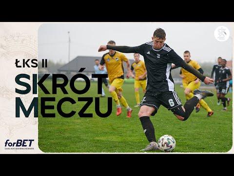 Andrespolia Wiśniowa Góra – ŁKS II Łódź 0:2 | SKRÓT MECZU