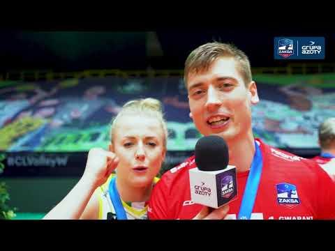 Jakub Kochanowski i Kamil Semeniuk po Superfinale