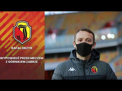 Rafał Grzyb – wypowiedź przed meczem z Górnikiem Zabrze
