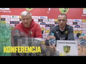 [GKS TV] Konferencja prasowa po meczu z Miedzią Legnica