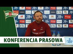 Konferencja prasowa przed przed meczem z Cracovią   #LGDCRA