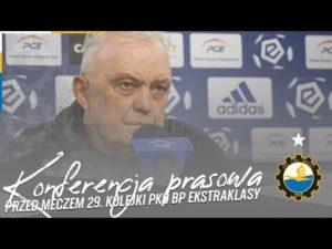 Read more about the article TV Stal: Konferencja prasowa przed meczem 29. kolejki PKO BP Ekstraklasy