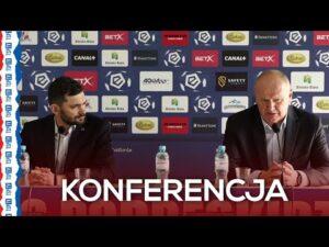Konferencja prasowa po meczu Podbeskidzie – Wisła Płock