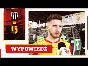 Jakub Łukowski po meczu z Sandecją Nowy Sącz