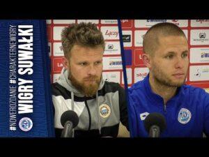 Read more about the article Konferencja   Wigry Suwałki 0:1 (0:0) Hutnik Kraków