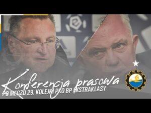 Read more about the article TV Stal: Konferencja prasowa po meczu 29. kolejki PKO BP Ekstraklasy