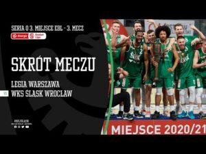 Read more about the article #BAŃKA5 SKRÓT: Legia Warszawa – WKS Śląsk Wrocław 85:86