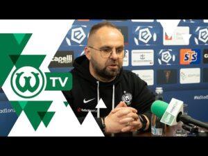 Piotr Tworek po meczu Pogoń Szczecin – Warta Poznań
