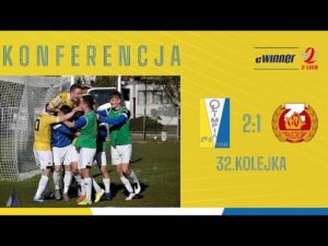Read more about the article KONFERENCJA: Olimpia Elbląg 2:1 Znicz Pruszków | 32. kolejka, eWinner 2. Liga