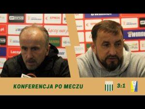 Read more about the article Konferencja po meczu 31. kolejki eWinner 2. Ligi: Olimpia Grudziądz – Olimpia Elbląg.