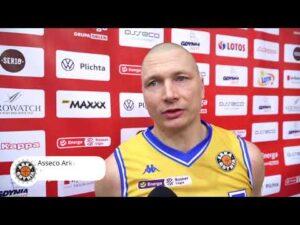Read more about the article Asseco Arka Gdynia vs. Anwil Włocławek – wywiady – 17.03.2021