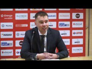 Asseco Arka Gdynia vs. Anwil Włocławek – konferencja prasowa – 17.03.2021