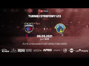 Read more about the article Turniej Strefowy U13 | Twarde Pierniki Toruń – MKS Ósemka Skierniewice