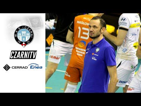 Read more about the article CzarniTV: Wypowiedzi po meczu Cerrad Enea Czarni Radom – Cuprum Lubin