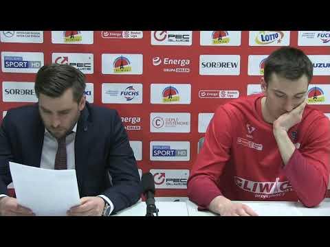 Read more about the article Konferencja prasowa po meczu GTK Gliwice – Hydrotruck Radom