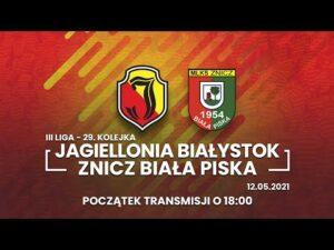 III Liga. Jagiellonia II Białystok – Znicz Biała Piska