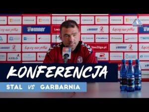 Konferencja po meczu Stal Rzeszów – Garbarnia Kraków