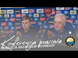 TV Stal: Konferencja prasowa po meczu 28. kolejki PKO BP Ekstraklasy