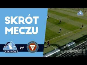 Skrót meczu Stal Rzeszów – Garbarnia Kraków (13.05.2021)
