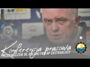 Read more about the article TV Stal: Konferencja prasowa przed meczem 30. kolejki PKO BP Ekstraklasy