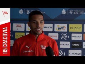 Rivaldo Jr przed meczem z Wartą Poznań (14.05.2021) [NAPISY PL]