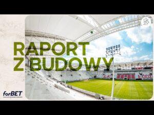 Raport z budowy stadionu ŁKS | Kwiecień 2021