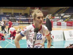 1/2 MP Kadetek: Julia Lenik (LTS Legionovia Legionowo) – MVP 2 meczu