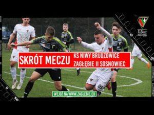 Read more about the article KS Niwy Brudzowice – Zagłębie II Sosnowiec | Skrót meczu i pomeczowe wypowiedzi trenerów