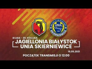 III Liga. Jagiellonia II Białystok – Unia Skierniewice