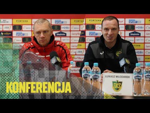 [GKS TV] Konferencja prasowa po meczu z Odrą Opole
