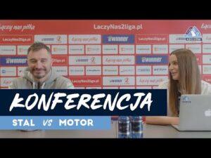 Konferencja po meczu Stal Rzeszów – Motor Lublin