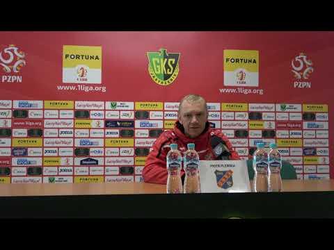 Konferencja prasowa po meczu z GKS-em Jastrzębie