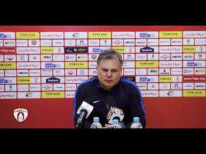 Read more about the article Tomasz Tułacz po meczu Puszcza – ŁKS   PUSZCZA TV
