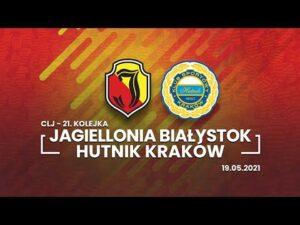 Read more about the article CLJ U18. Jagiellonia Białystok – Hutnik Kraków